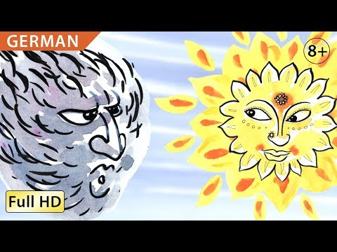 "The Wind and the Sun: Learn German with subtitles - Story for Children ""BookBox.com"""