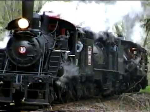 Mount Rainier Scenic Steam - Old Time Movie Travel Video