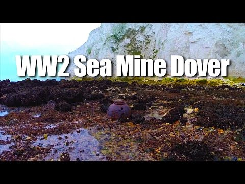 WW2 Sea Mine near Dover