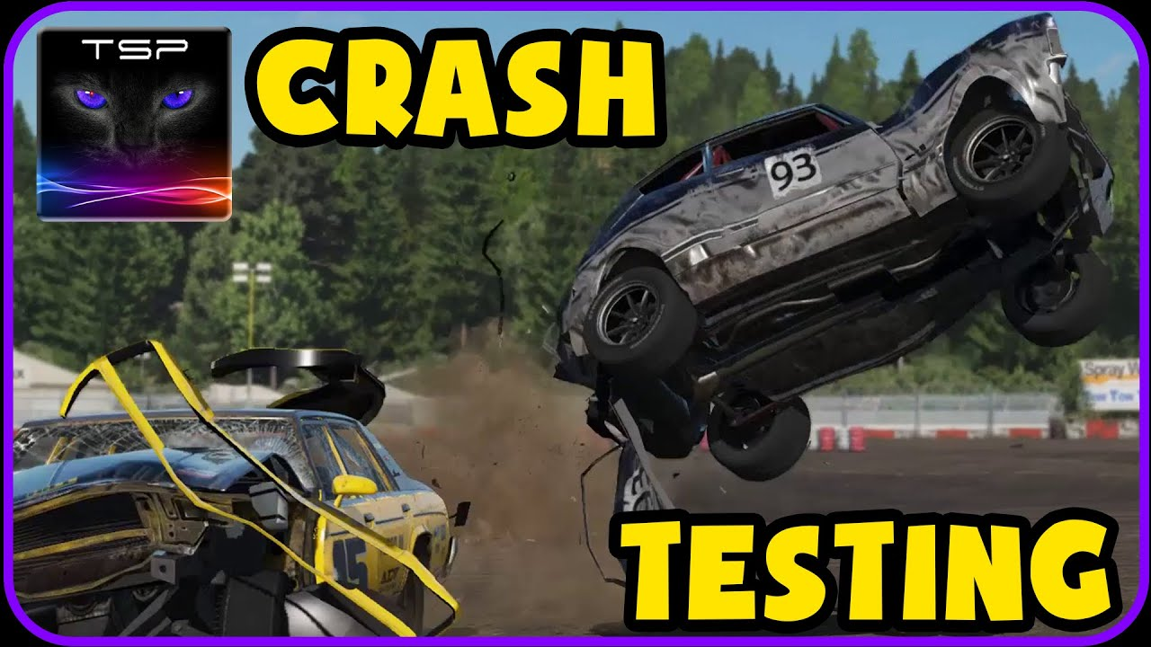 wreckfest ford taunus tc crash testing 2016 youtube. Black Bedroom Furniture Sets. Home Design Ideas