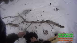 Охота на норку капканами январь 2019