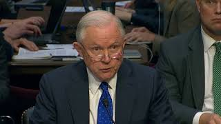 AG Jeff Sessions Testifies on Russia Election, Clinton Emails Investigation Before Senate Judiciary Free HD Video