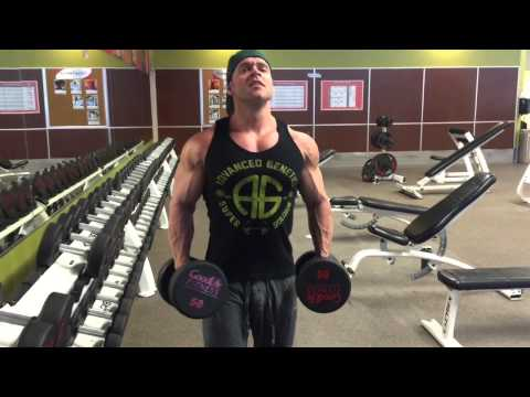 Building Massive Delts with Dumbbell Upright Rows
