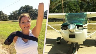 Woman Who Lost Arm From Propeller Trains for Triathlon