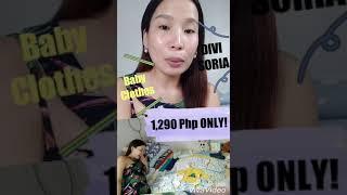 Shopping sa Divisoria ng Baby clothes-1,290PHP ONLY