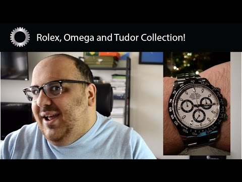 AMAZING Watch Collection Review - Rolex Omega and Tudor