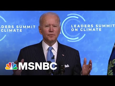 Biden Calls For 'Investing In Innovation' To Work Toward 'A Clean Energy Future'   MSNBC