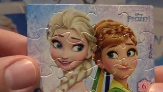 Disney Frozen Anna and Elsa 20 Kinder Surprise Eggs Capsule thumbnail