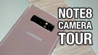 Samsung Galaxy Note 8 Camera Tour: Finally a Dual Camera