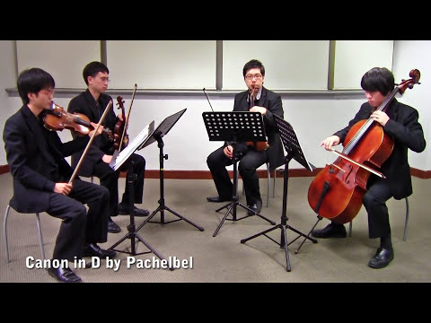 Canon in D  Pachelbel Vetta Quartet from Singapore