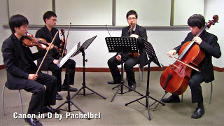 Canon in D by Pachelbel (Vetta Quartet from Singapore)
