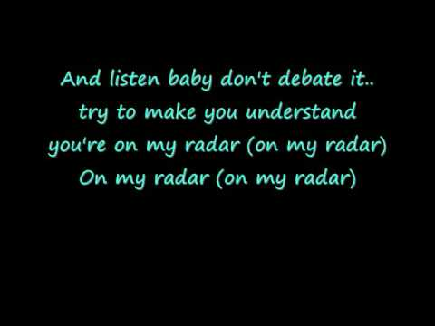 Britney Spears  Radar LYRICS!!!!