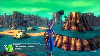 Dragon Ball: XenoVerse - God of Destruction Beerus Gameplay (PS4 HD) [1080p]