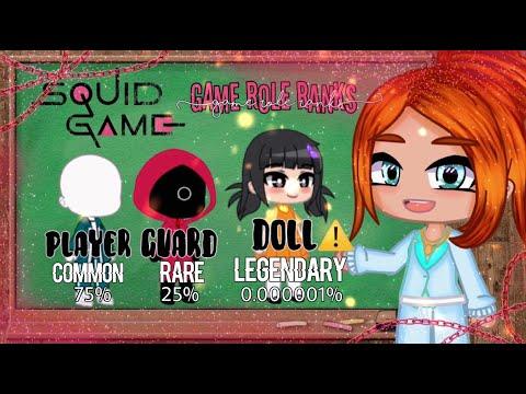 Red Light, Green Light - Gacha Club Mini Movie (GCMM) | Squid Game AU (NOT ORIGINAL) MLB - READ DESC