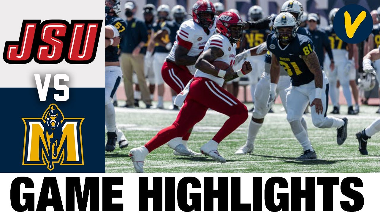 #10 Jacksonville State vs #17 Murray State Highlights | FCS 2021 Spring College Football Highlights