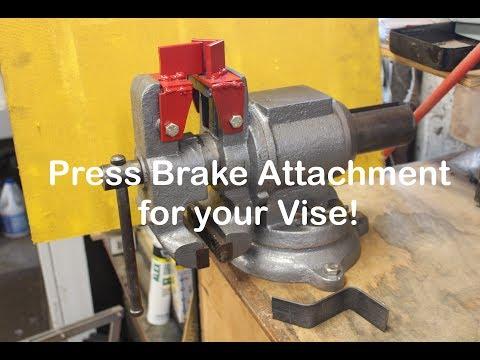 Press Brake Attachment for Your Vise!