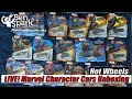Unboxing Hot Wheels Marvel Character Cars Avengers: Infinity War and More