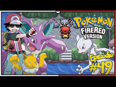 Pokémon Fire Red Let39;s Play 49: Capturar Mewtwo, Não dá