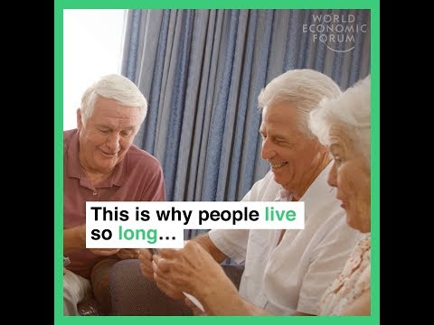 This is why people live so long      In the countries with the highest life expectancy