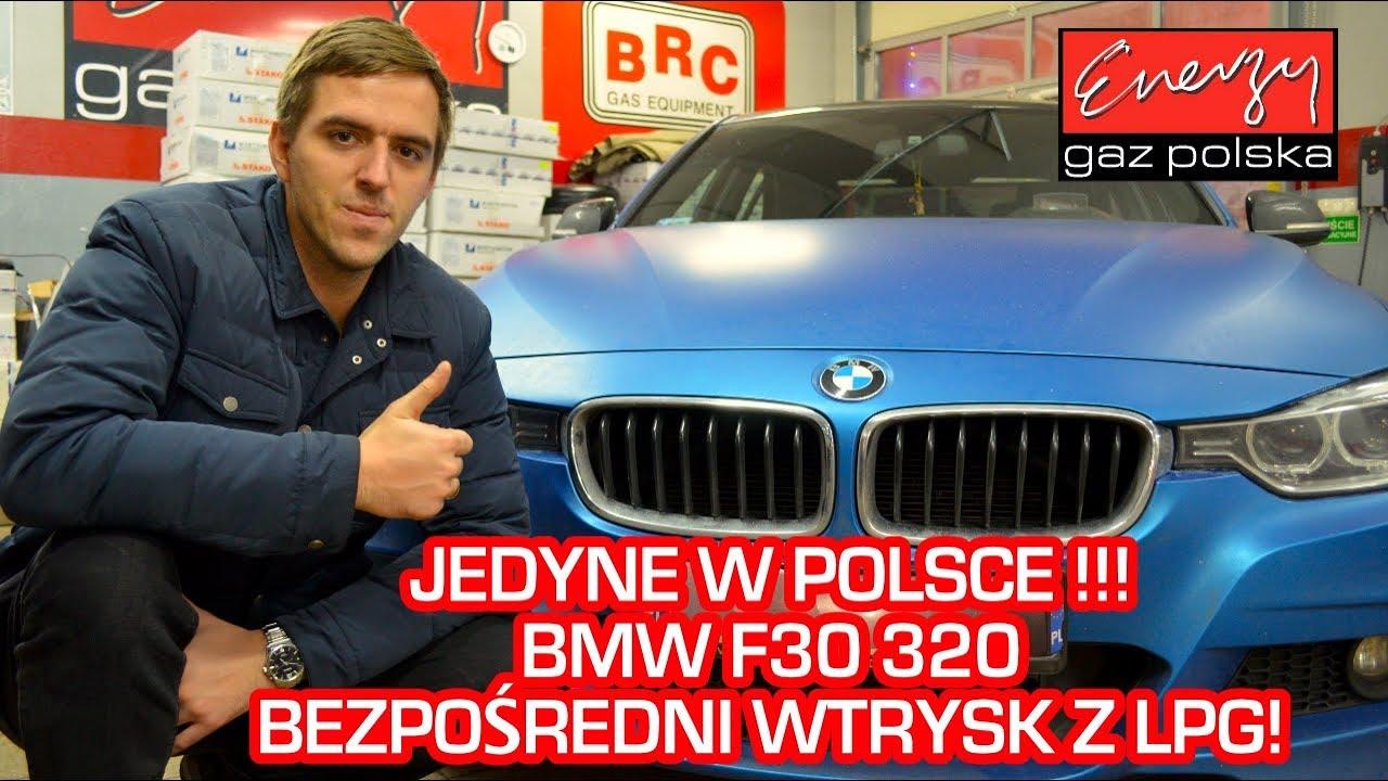 PIERWSZE W POLSCE BMW F30 320 2.0 184KM bezpośredni wtrysk LPG 2012r w EGP na auto gaz Landi Renzo