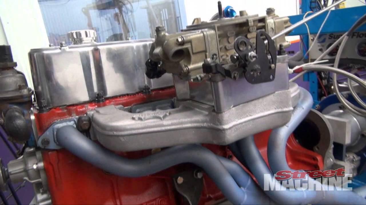 Powerhouse Engines 202 Red Motor