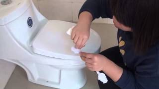 Baby safety of Toilet Lock