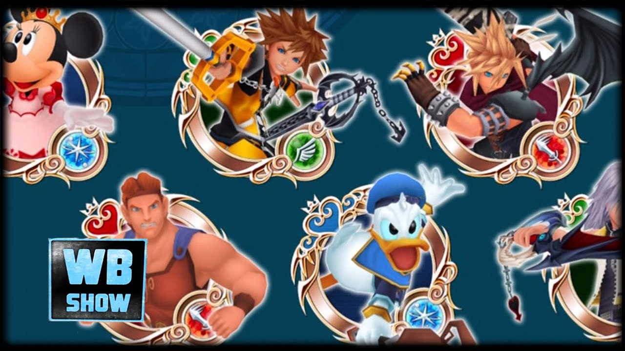 KINGDOM HEARTS Unchained X Final Fantasy & Disney Medals Summons