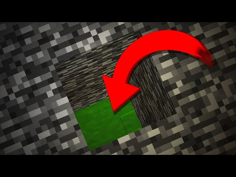 Minecraft's SECRET Update World UNDER Bedrock...