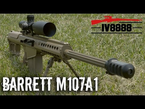 Barrett M107A1 - YouTube