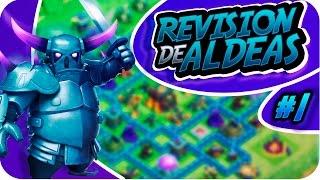 Nueva Serie | Revisión de aldeas | Clash of Clans En Español Vais a salir en el canal-Davidstar9x