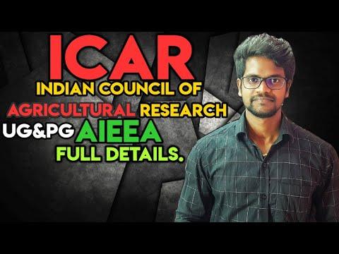 What Is ICAR AIEEA Full Details Explained Tamil Muruga MP
