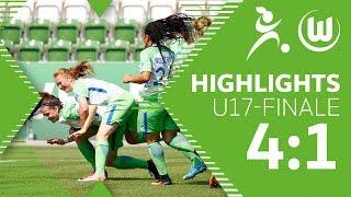 VfL Wolfsburg - 1. FC Köln | U17-Juniorinnen | Highlights | Bundesliga