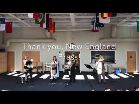 New England Brass Quartet at Harborlight Montessori