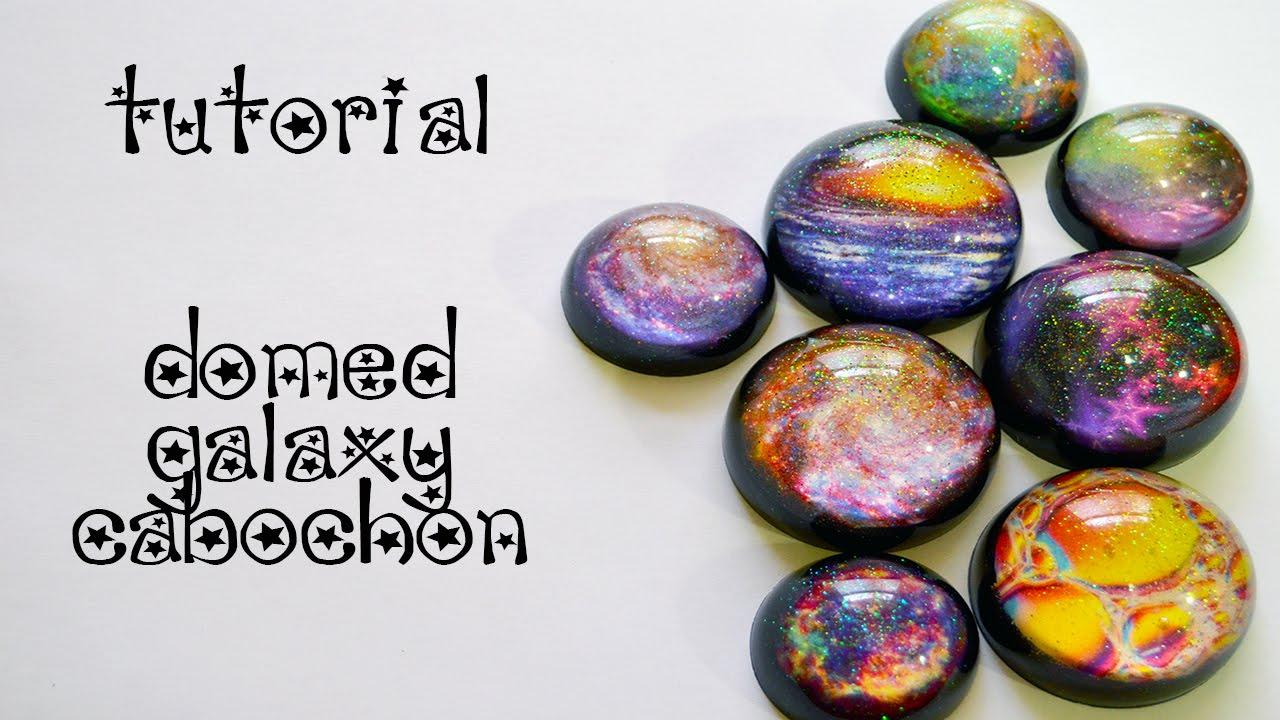 Tutorial - Resin Galaxy Domed Cabochon