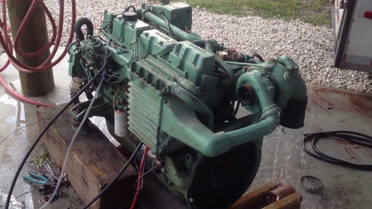Volvo Penta Marine Diesel Engine Tamd 41b
