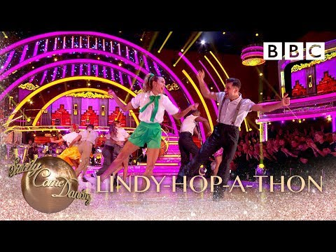 The Lindy-Hop-A-Thon Group Dance - BBC Strictly 2018