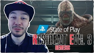 RESIDENT EVIL 3 REMAKE y GHOST OF TSUSHIMA - STATE OF PLAY REACTION