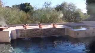 Arizona Biltmore Pool Renovation With Fire, Fog & Water