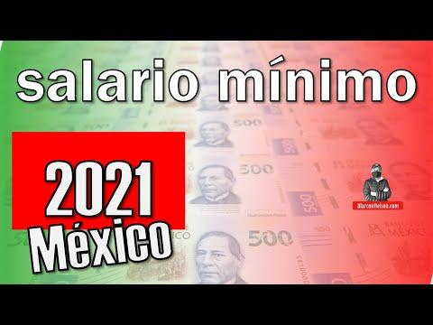 Este es el SALARIO MÍNIMO en #México para 2021