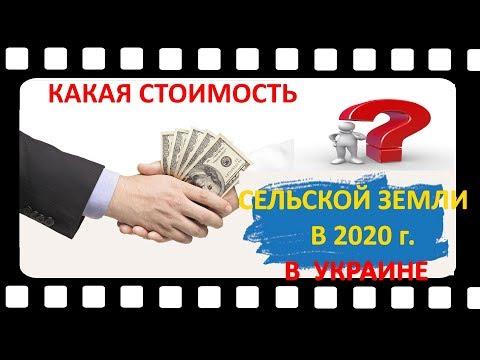 Какая стоимость сельской земли в 2020 году в Украине?