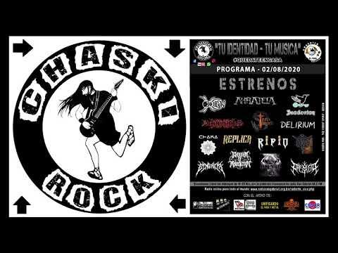 RIPIO en Chaski rock - Radio San Gabriel 98.2 (La Paz - Bolivia)