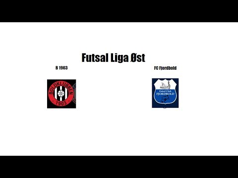 FutsalLiga Øst, runde 9 B 1903 - FC Fjordbold (4-5)