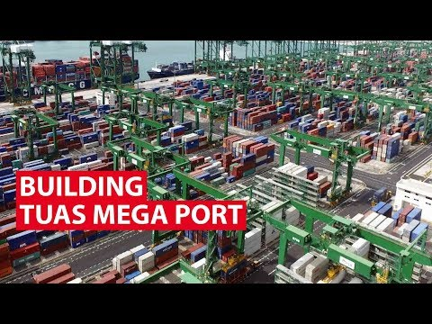 Building Singapore's Tuas Mega Port | Looking Ahead | CNA In