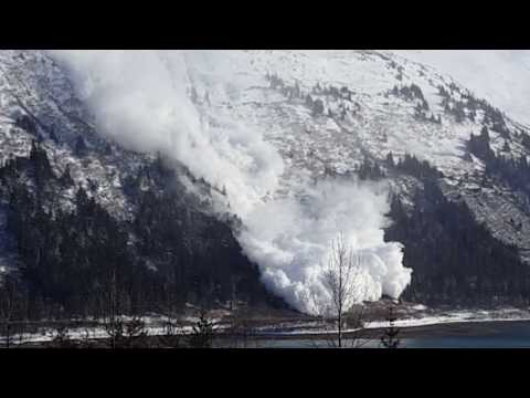 Juneau, Alaska Avalanche (March 3 2017)