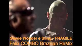 Stevie Wonder & Sting - Fragile - Felix COMBO Brazilian Remix