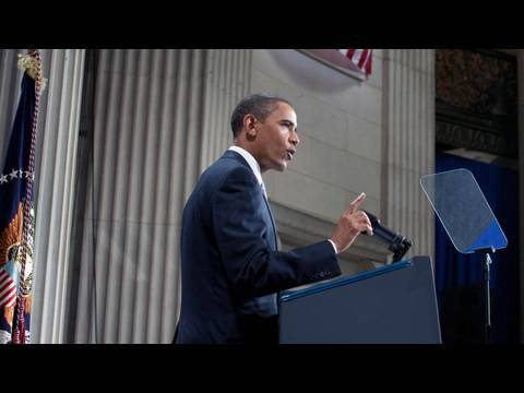 President Obama on the Anniversary of Lehman's Fall