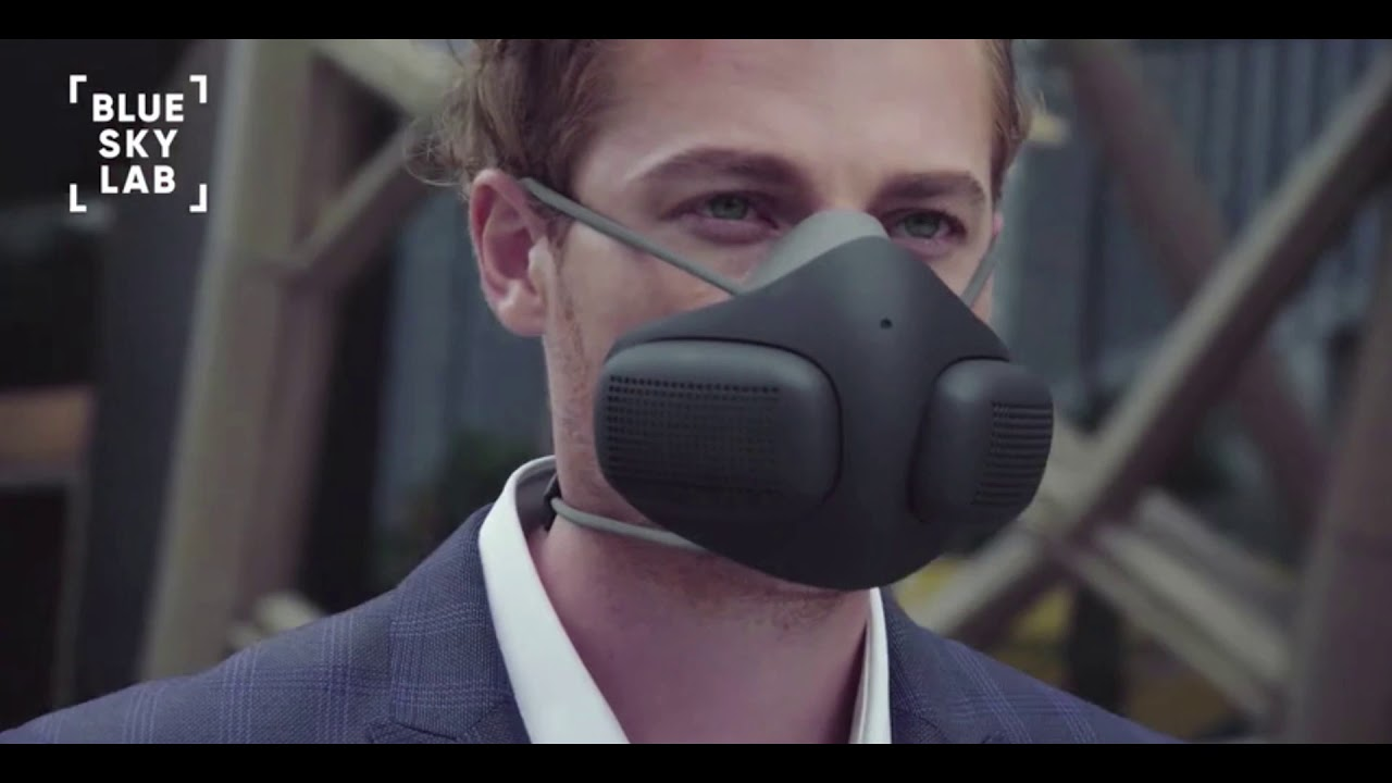 Atmoblue Air Filtration Mask + Filter Cartridge 6 Pack video thumbnail