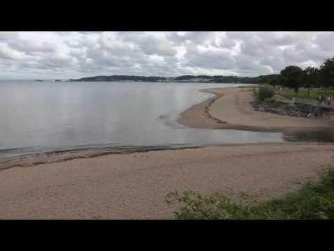 High Tide in Swansea Bay - Time-Lapse