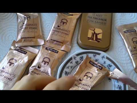 Кофе Kurukahveci Mehmet Efendi в пакетиках по 6 грамм. Meryem Isabella