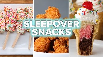 6 Sleepover Party Snack